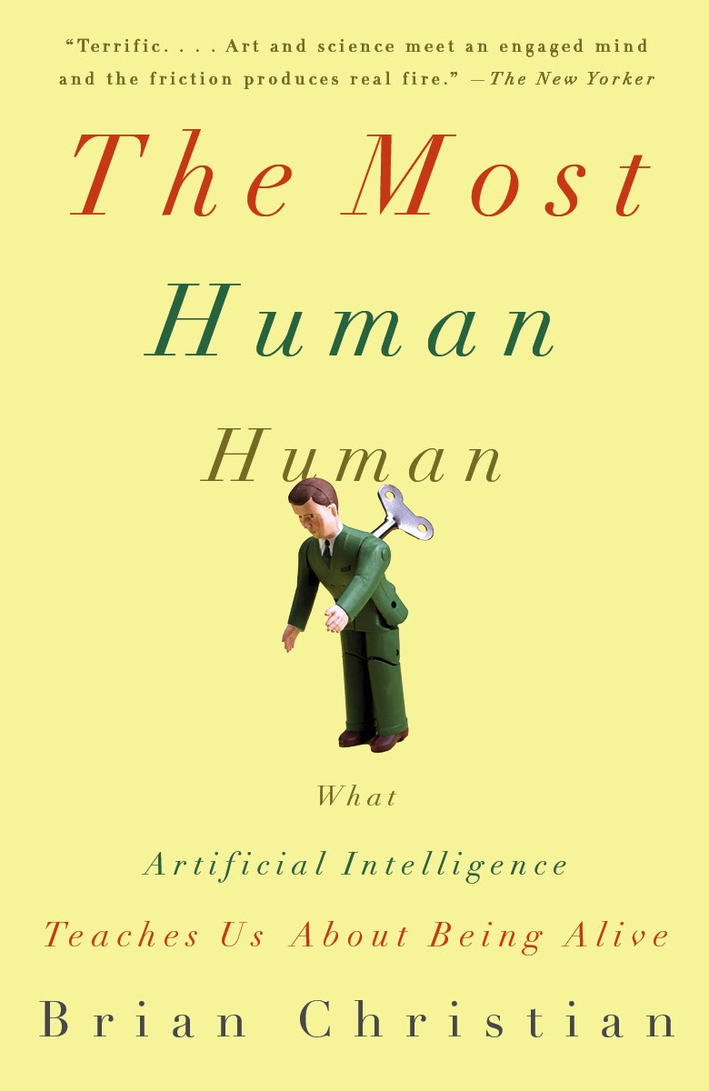 The Most Human Human Paperback Front Cover